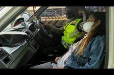 Polantas Bantu Perempuan yang Hendak Melahirkan di Cideng, Jakpus
