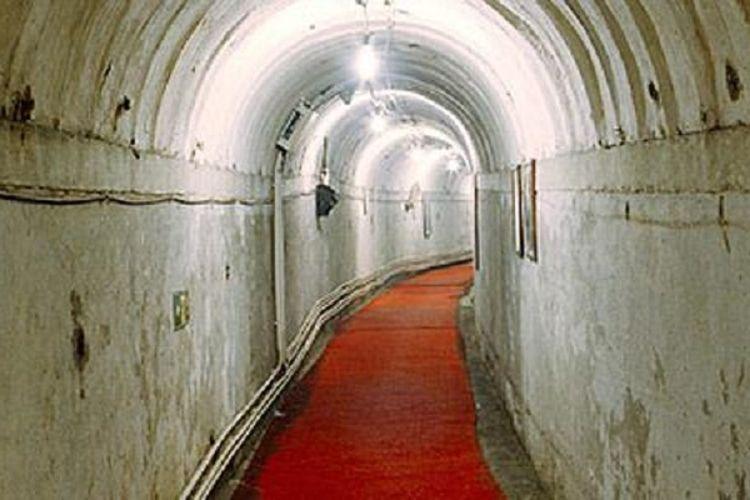 Terowongan Suku Tikus di bawah kota Beijing, China.