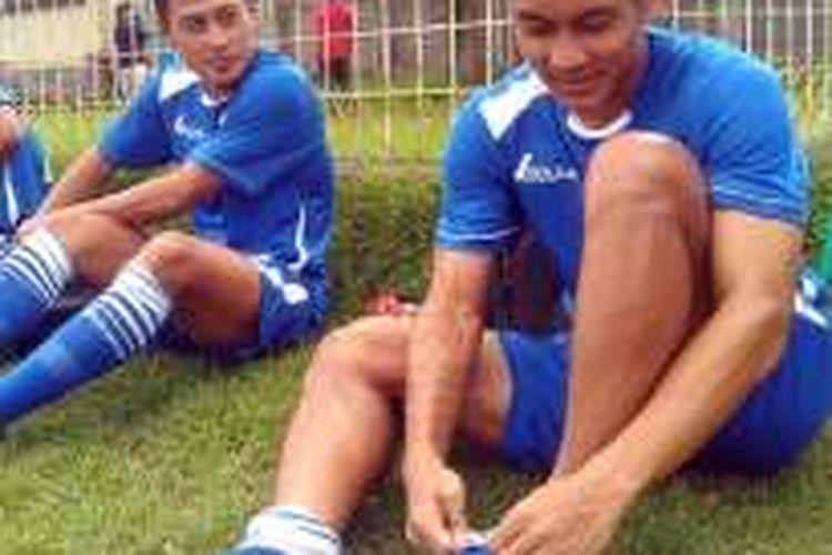 Samsul Arif dan Purwaka Yudi gabung dengan skuad Persib Bandung untuk Bali Island Cup.