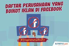 INFOGRAFIK: Daftar Perusahaan yang Boikot Iklan di Facebook