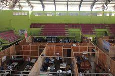 Dana Pembangunan Gedung Untuk Cegah Corona, 35 Anggota DPRD Pasaman Berkantor di GOR