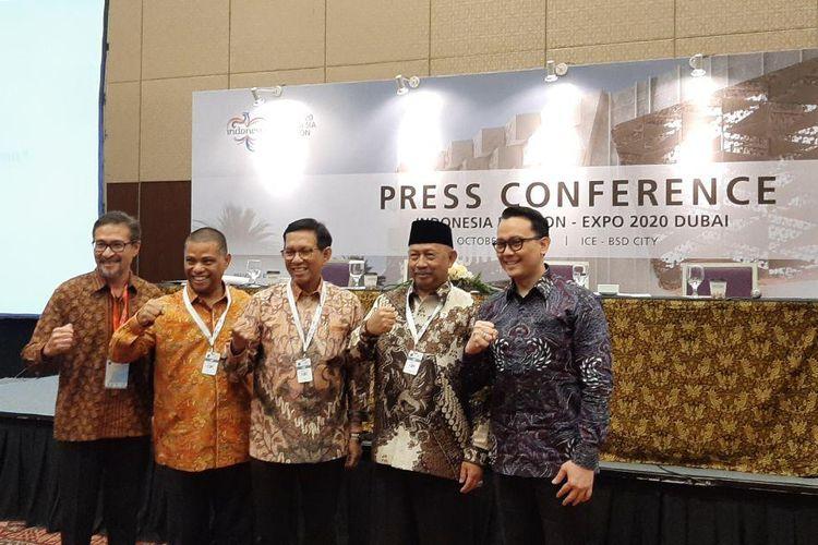 Press Conference Dubai Expo 2020