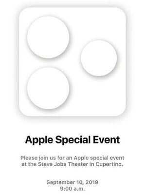 Undangan peluncuran iPhone 1.