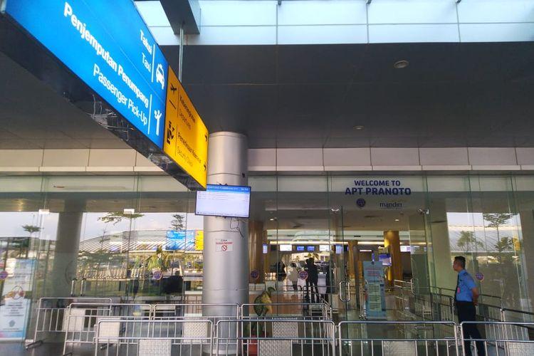 Bandara APT Pranoto Samarinda, Kalimantan Timur, Jumat (8/11/2019).
