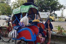 Kisah Pilu Keluarga dengan Balita di Solo Tinggal di Becak, Bapak di-PHK karena Corona