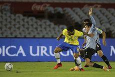 Babak Pertama Uruguay Vs Brasil, Tim Samba Unggul Dua Gol