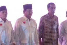 Prabowo Datang Naik Lexus, Jokowi Pakai Innova