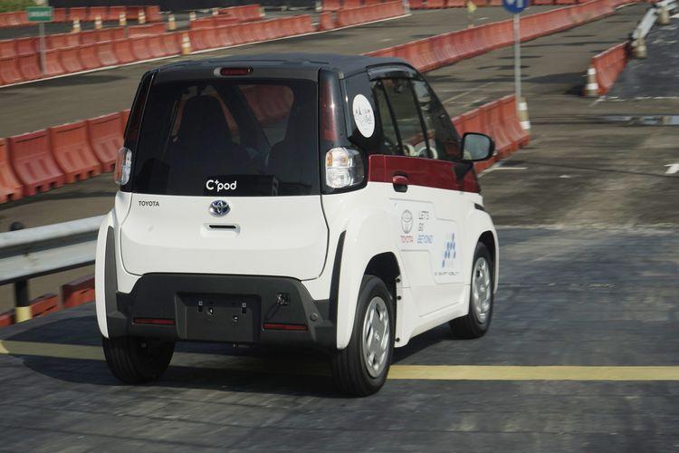 Sensasi Mengemudi Toyota C Pod Enak Dipakai Di Perkotaan