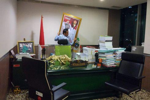 Lulung Berkemas di Hari Terakhirnya sebagai Anggota DPRD DKI