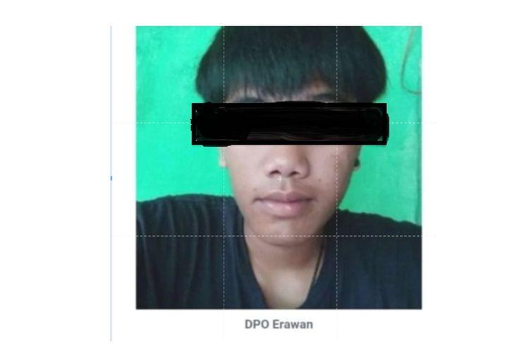 DPO Polres Kaur Bengkulu untuk kasus pemerkosaan anak di bawah umur yang sudah 3 bulan jadi buron, atas nama Erawan (20).