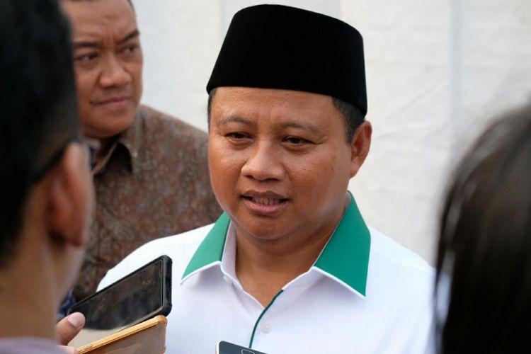 Wakil Gubernur Jawa Barat, Uu Ruzhanul Ulum di Lapangan RRI Cimanggis, Depok, Jawa Barat, Selasa (27/9/2018).