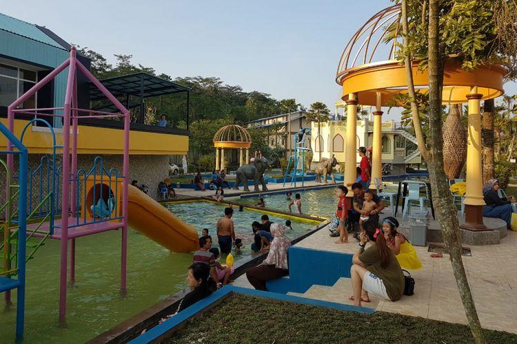 Tempat wisata River Walk. Kendal, Jawa Tengah.