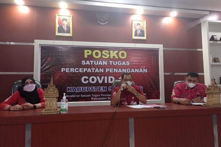 Bupati Semarang Ngesti Nugraha menyampaikan rumah singgah penyintas Covid-19 saat ini overload.