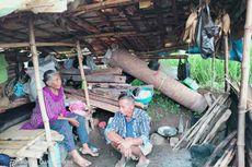 Foto Suami Istri Jompo Tinggal di Gubuk Reyot Tengah Sawah Viral di Medsos, Ini Fakta Sebenarnya