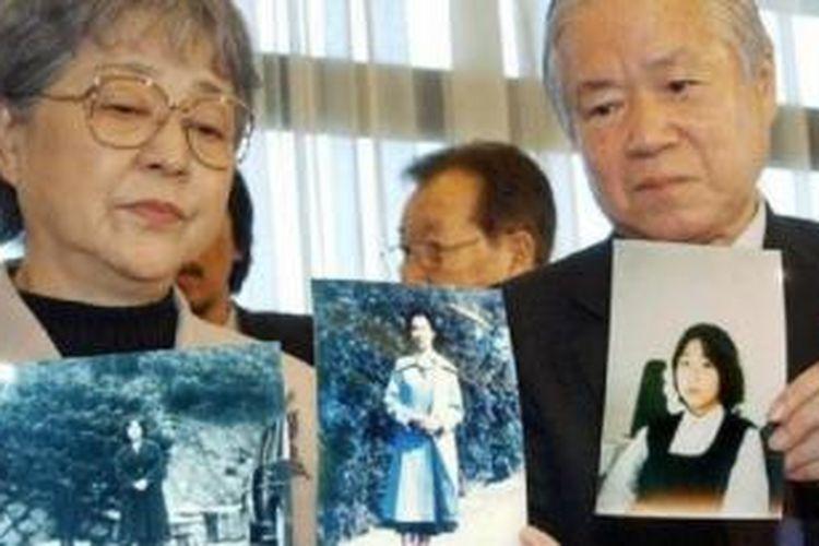 Shigeru dan Sakie Yokota puluhan tahun berusaha mencari Megumi