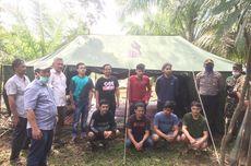 Isolasi Diri di Hutan Sepulang dari Jakarta, 8 Pemuda Aceh Tidur di Tenda dan Jaring Ikan di Sungai