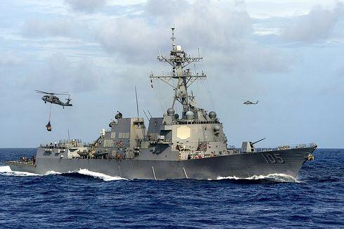 China Marah AS dan Kanada Kirim Kapal Perang Berlayar di Selat Taiwan