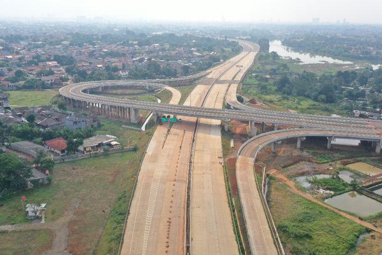 Tol Serpong-Cinere beroperasi fungsional Desember 2020.