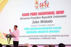 Presiden Jokowi Kembali Membahas Ibu Kota Baru dan Pengaruh Pers di HPN 2020