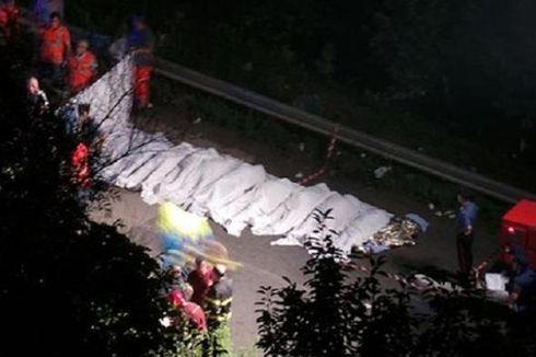 36 Peziarah Tewas dalam Kecelakaan Bus di Italia