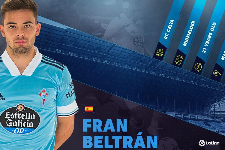 Pemain muda Celta Vigo, Fran Beltran.