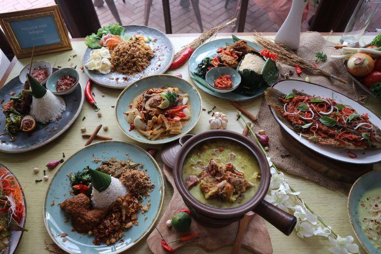 Beragam kuliner Indonesia dapat dijadikan santapan istimewa di Hari Kemerdekaan RI.
