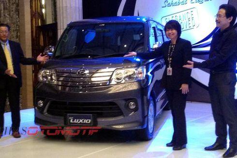 Daihatsu New Luxio Tampil Lebih Elegan
