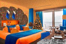 Unik, Ada Kamar Hotel Bertema Cokelat dan Jeruk, Cocok untuk Natal