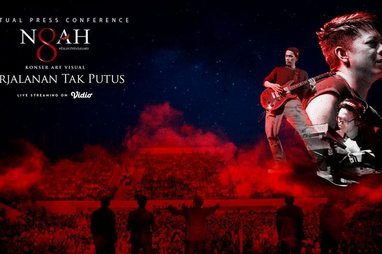 Grup band Noah akan menggelar sebuah konser art visual bertajuk Perjalanan Tak Putus yang merupakan bagian dari perayaan ulang tahun mereka ke-8.