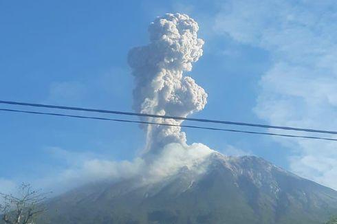 Gunung Ile Lewotolok Kembali Meletus, Tinggi Kolom Abu Mencapai 1.500 Meter