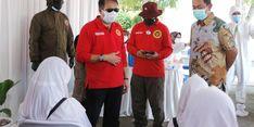 BIN Donasikan Mobile Lab dan Vaksin untuk Kota Semarang