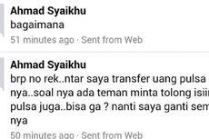 Penjelasan Wakil Wali Kota Bekasi soal Akun Facebook Meminta Pulsa