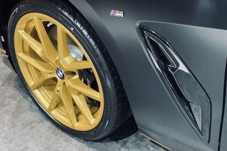 BMW Seri 8 Golden Thunder Edition