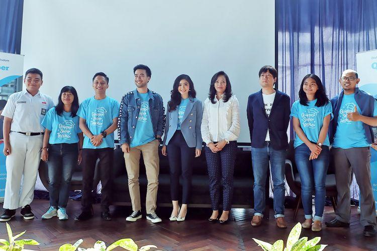 Peluncuran program Quipper Super Teacher dari Quipper Indonesia, Jakarta (17/9/2018)