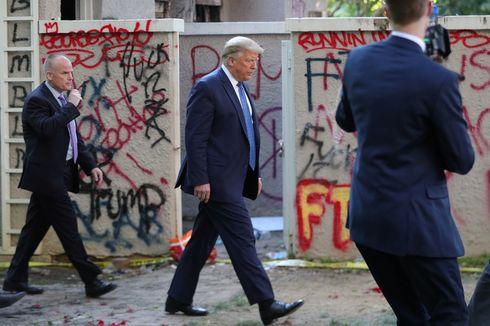 Diungsikan Saat Demo George Floyd, Trump Dapat Ejekan