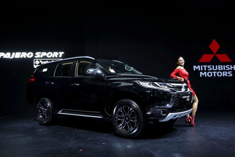 All New Mitsubishi Pajero Sport dipamerkan di Indonesia International Motor Show 2018 di JI Expo Kemayoran, Jakarta, Kamis (19/4/2018). Pameran otomotif terbesar di Indonesia ini akan berlangsung hingga 29 April 2018 mendatang.
