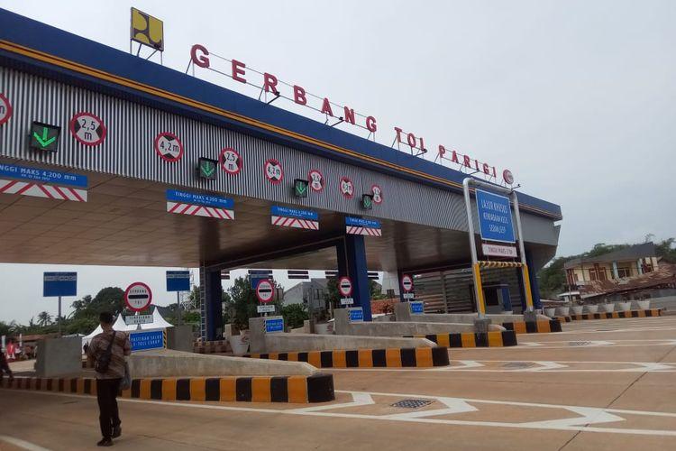 Gerbang Tol Parigi Tol JORR 2 Ruas Kunciran-Serpong