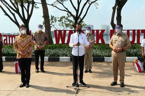 Jokowi Beri Target Herd Immunity di DKI Tercapai Agustus