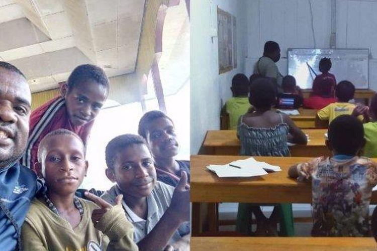 Viral kisah Pak Amos, tukang ojek yang merawat belasan anak pecandu lem dan narkoba di Papua, begini kisah lengkapnya.