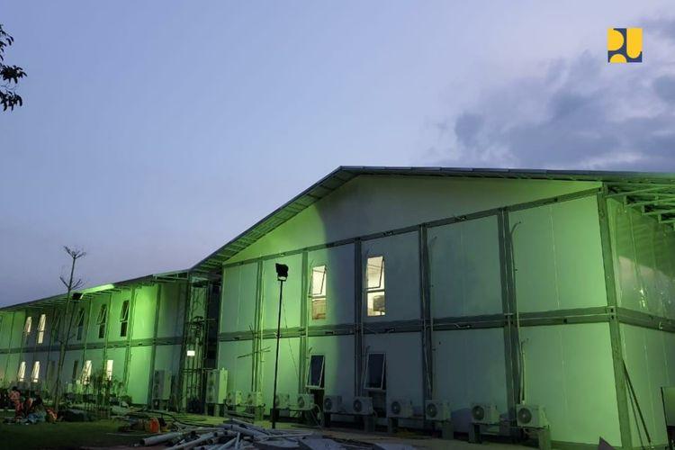 Kondisi terkini fasilitas observasi dan isolasi di Pulau Galang, Batam