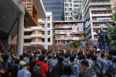 Ratusan Mahasiswa Universitas Gunadarma Demo Kampusnya Sendiri, Tuntut Perbaikan Sistem