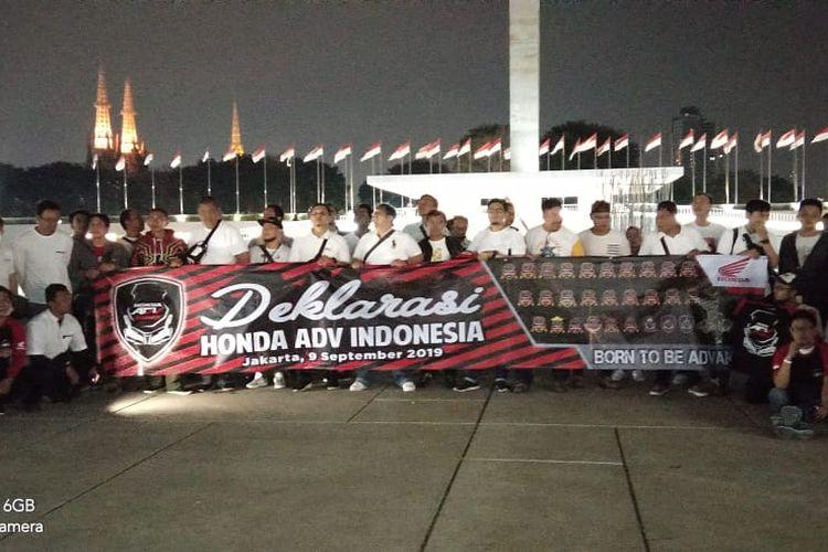 HAI Jadi Komunitas perama Honda ADV di Indonesia