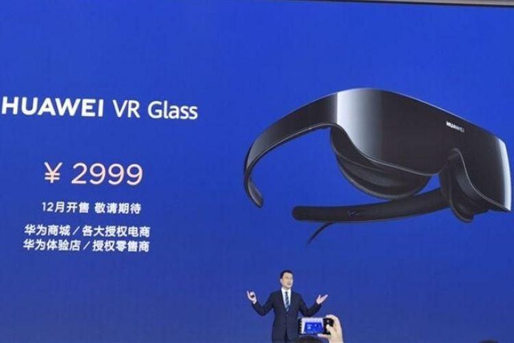 Huawei merilis kacamata VR yang bisa dilipat.