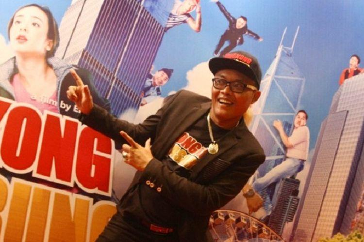 Komedian dan artis peran Sule ditemui usai acara press screening film Hongkong Kasarung, di Jakarta, Senin (12/3/2018). Sule berperan sebagai pemuda desa yang mencari peruntungan di Hongkong, film komedi ini ditayang pada 15 Maret 2018.