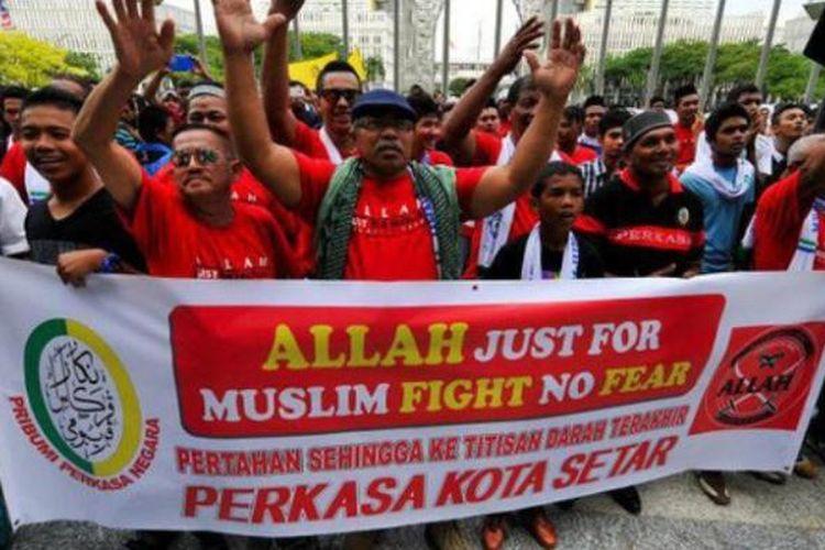 Perselisihan soal penggunaan kata Allah oleh umat non-Muslim, khususnya Kristen, sudah muncul di Malaysia sejak 2008.