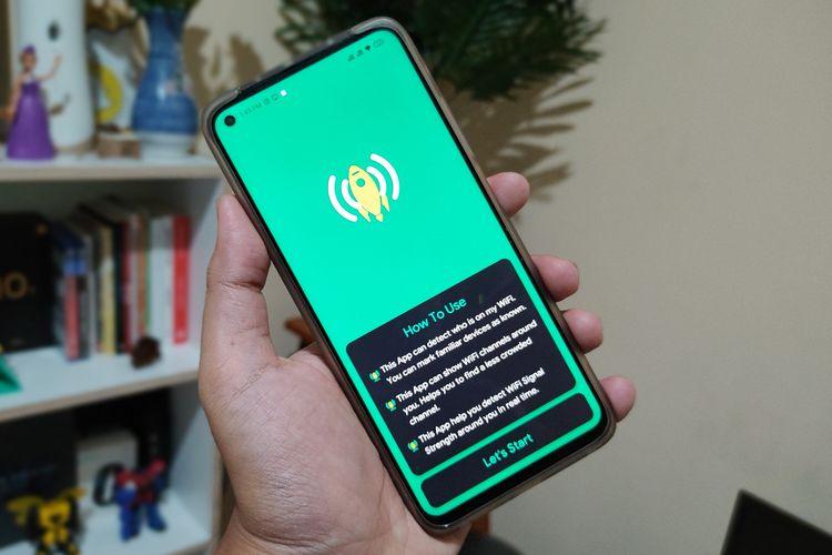 Ilustrasi aplikasi WiFi Warden.