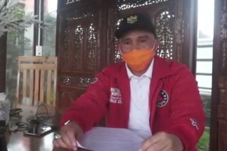 Bupati Lampung Barat Parosil Mabsus.