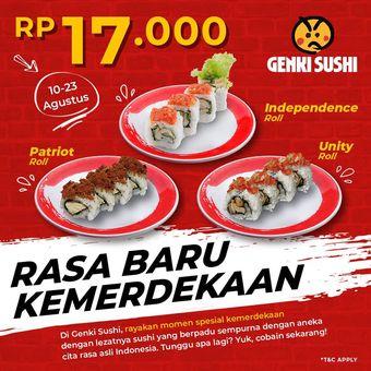 Promo kemerdekaan Genki Sushi