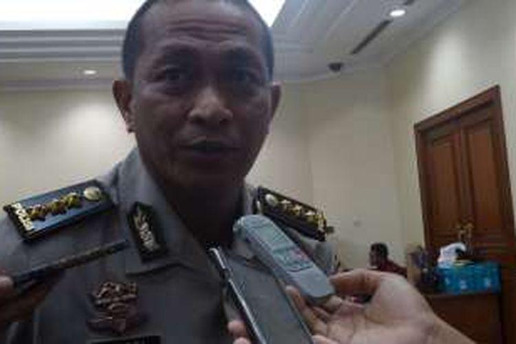 Kepala Bidang Humas Polda Jawa Barat Kombes Yusri Yunus di Rupatama Mabes Polri, Jakarta, Kamis (27/10/2016).