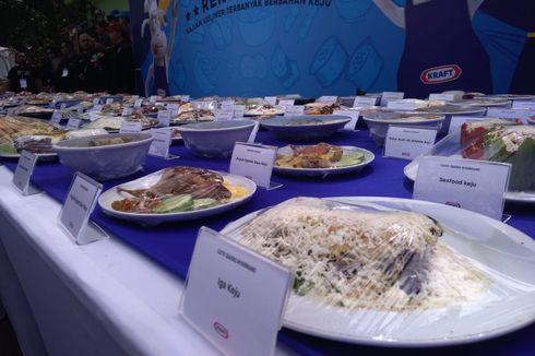 Festival Kuliner Kraft Bandung Sajikan 150 Makanan dengan Tambahan Keju